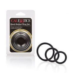 CalExotics Black Rubber Ring Set-0
