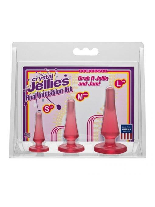 Crystal Jellies Anal Initiation Kit-723
