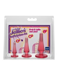 Crystal Jellies Anal Initiation Kit-0