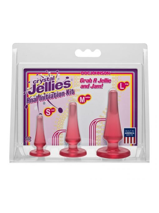 Crystal Jellies Anal Initiation Kit-0