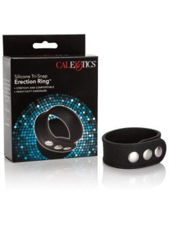 CalExotics Silicone Tri-Snap Erection Ring-0