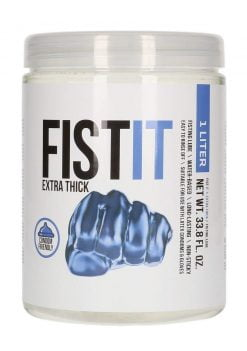 Fist It Extra Thick Waterbased Lubricant 1L-0