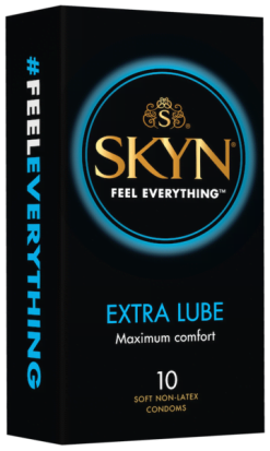 Skyn Extra Lube Condoms 10pk-0