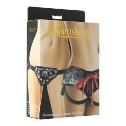 Sportsheets Platinum Lace Corsette Strap On-0