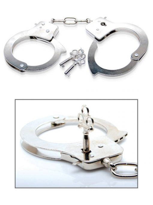 Fetish Fantasy Limited Edition Metal Handcuffs-7857