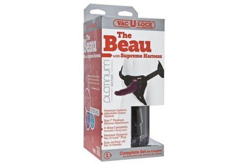 Vac-U-Lock The Beau w Supreme Harness-0