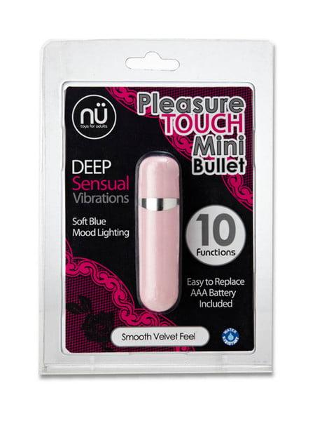Nu Pleasure Touch Mini Bullet-0