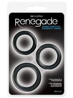 Renegade Super Stretchy Diversity Rings 3pk-0