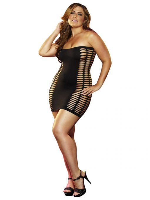 Lapdance Naughty Girl Mini Dress-6189