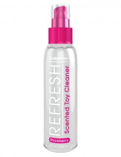 Refresh Scented Toy Cleaner - Strawberry-0