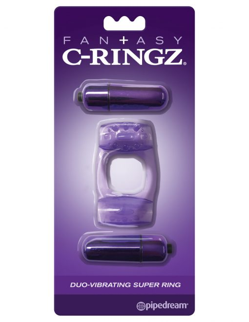 Fan+asy C-Ringz Duo-Vibrating Super Ring-8285