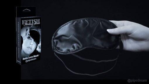 Fetish Fantasy Limited Edition Satin Love Mask-7930