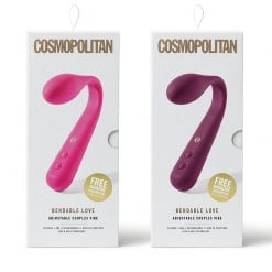 Cosmopolitan Bendable Love Adjustable Couples Vibe-0