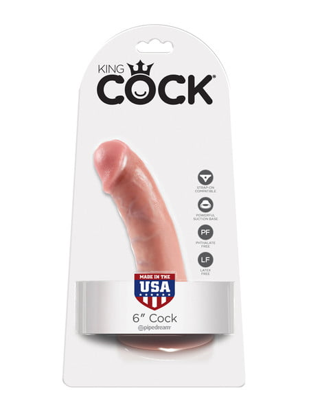 King Cock 6 Inch Cock-0