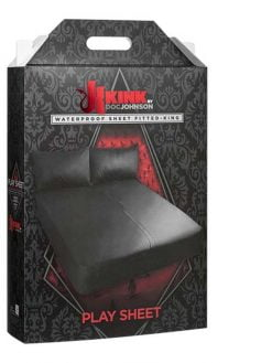 Kink Play Sheet Waterproof Fitted Sheet - King Size-0