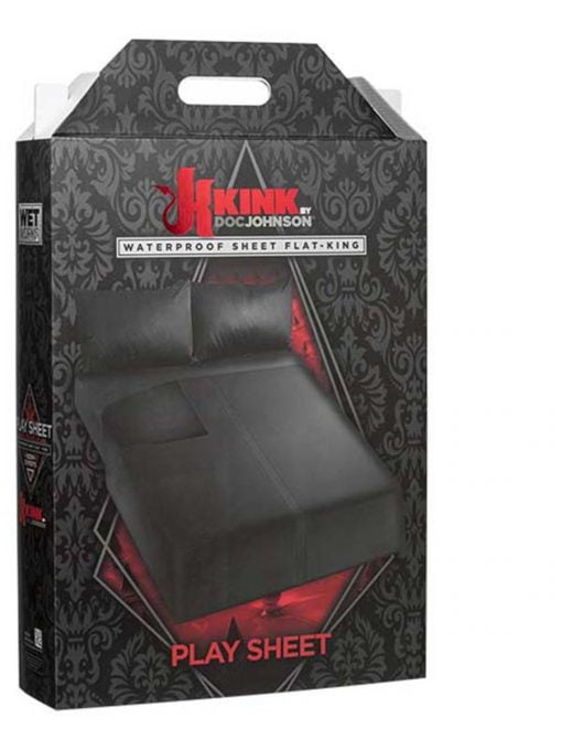 Kink Play Sheet Waterproof Flat Sheet - King Size-0
