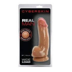Cyberskin 7 Inch Real Man Wide Load-0