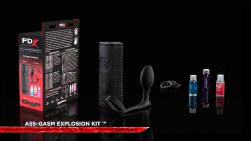 PDX Elite Ass-gasm Explosion Kit-12217