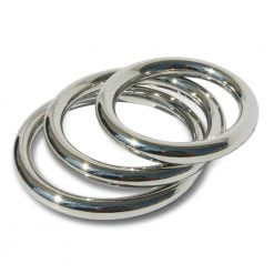 Manbound Seamless Metal Cock Ring 3-Pack-0