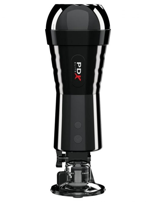 PDX Elite Cock Compressor Vibrating Stroker-10220