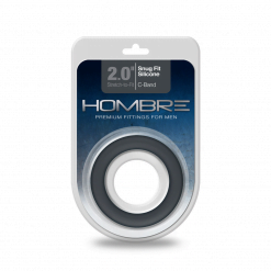 Hombre 2.0 Inch Snug Fit Silicone C-Band-0