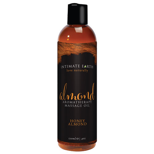 Intimate Earth Almond Aromatherapy Massage Oil 120ml-10345