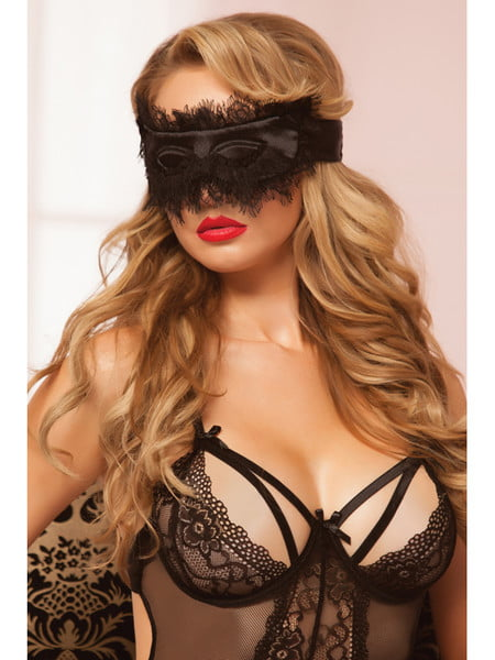 Seven Til Midnight 40135 Eyelash Blindfold-10419