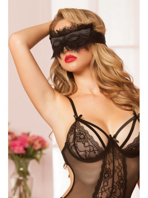 Seven Til Midnight 40135 Eyelash Blindfold-10421