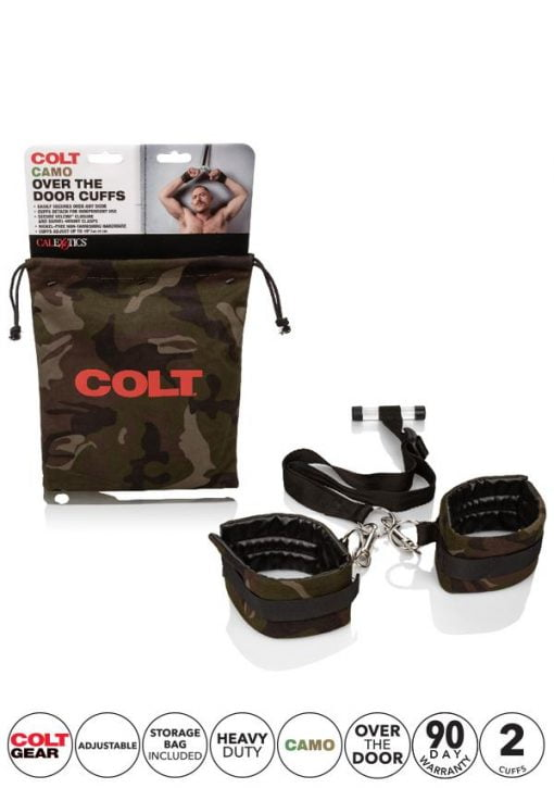 Colt Camo Over The Door Cuffs-11046