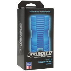 OptiMALE Truskyn Silicone Stroker - Ribbed-0