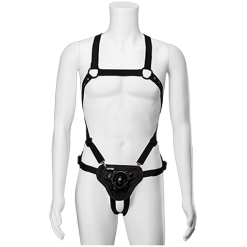 Vac-U-Lock Chest & Suspender Harness w Plug-12132
