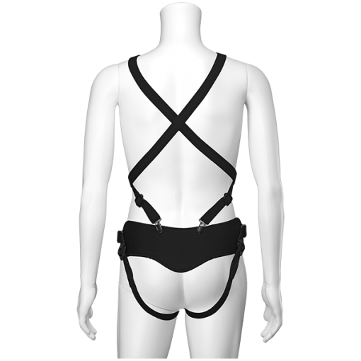 Vac-U-Lock Chest & Suspender Harness w Plug-12134